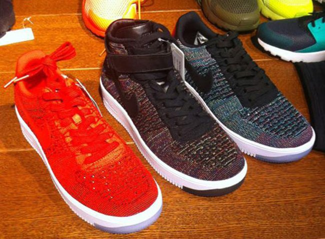 Nike Flyknit Air Force 1 Low Colorways