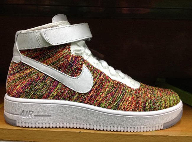 Nike Flyknit Air Force 1 Multicolor