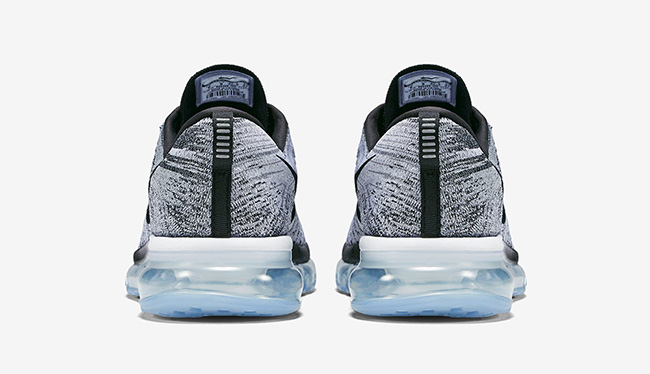 Nike Flyknit Air Max White Black