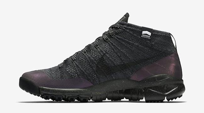 Nike Flyknit Chukka FSB Black Anthracite Waterproof