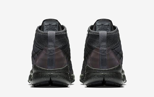 Nike Flyknit Negro Antracita Chukker Fsb QJNYw4J