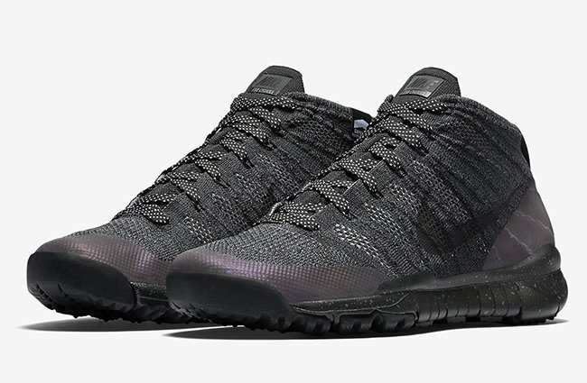 Nike Flyknit Anthracite Chukka Noir boutique d'expédition réduction fiable 8VyYMhDF3