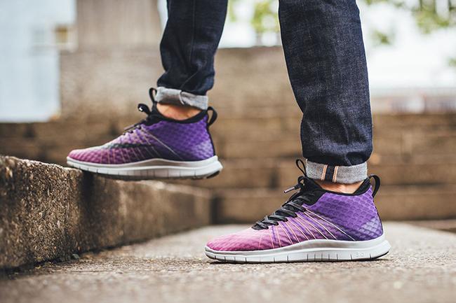 Nike Free Hypervenom 2 FC Purple Gradient