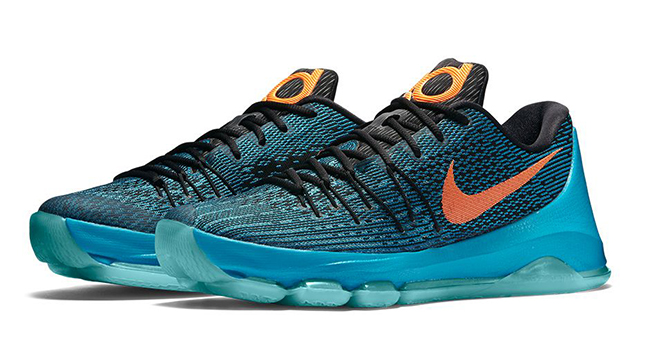 Nike KD 8 OKC Road Game