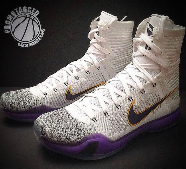 Nike Kobe 10 Elite Kobe Bryant Lakers