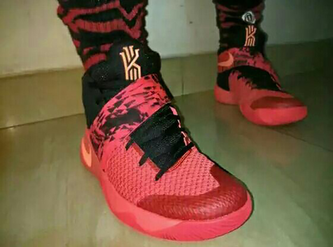 Nike Kyrie 2 Bright Crimson 2016