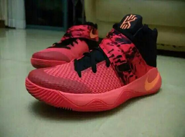 Nike Kyrie 2 Bright Crimson 2016