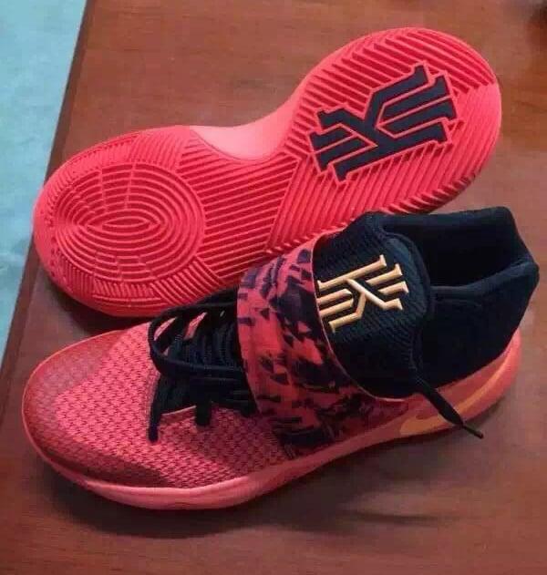 Nike Kyrie 2 Bright Crimson Atomic Orange Release Date