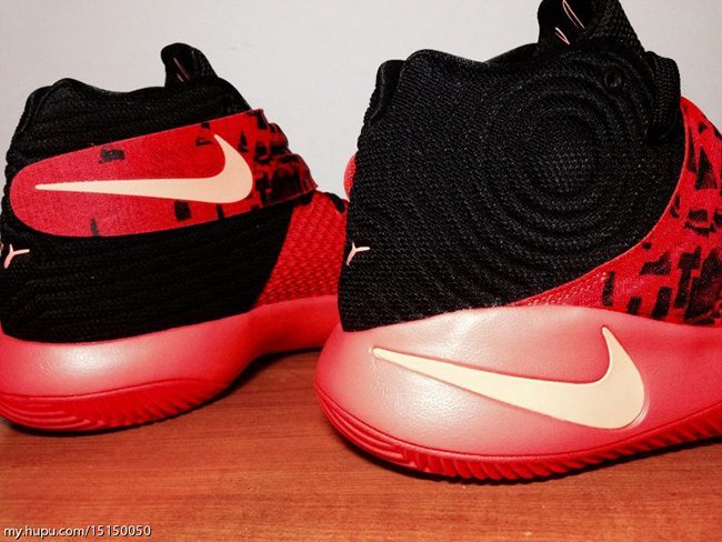 Nike Kyrie 2 Bright Crimson Orange