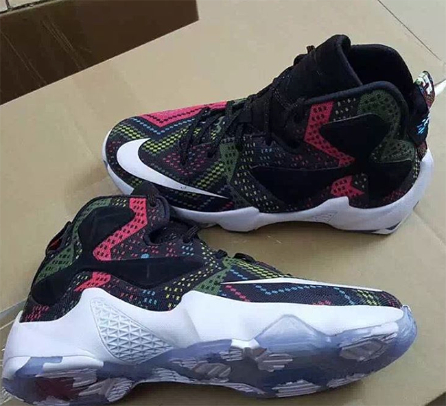 Nike Lebron 13 Bhm Black History Month Sneakerfiles