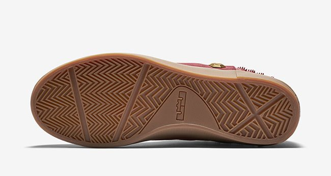 Nike LeBron 13 NSW Lifestyle Red Gum