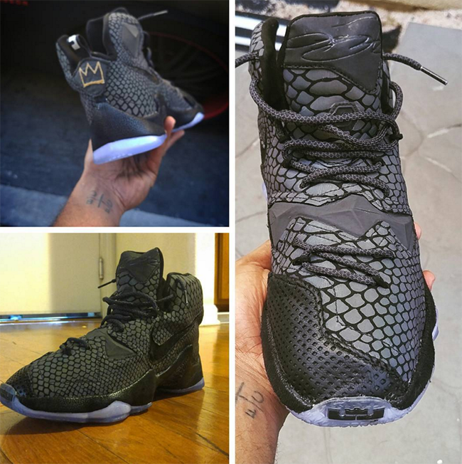 Nike LeBron 13 Xeno Reflective Custom