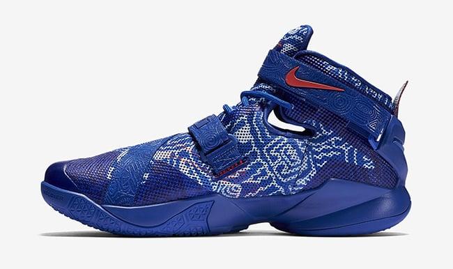 Nike LeBron Soldier 9 Freegums Game Royal