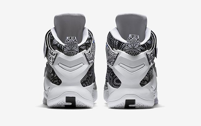 Nike LeBron Soldier 9 Freegums White Game Royal