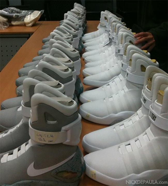 Nike MAG White Sample