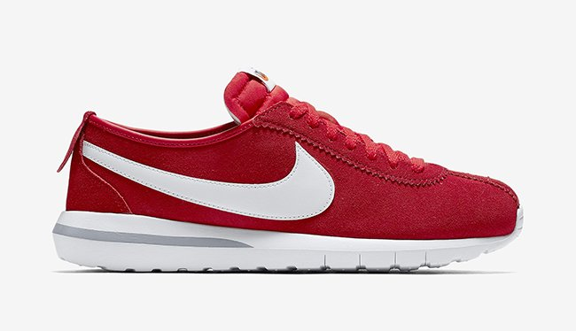 Nike Roshe Cortez Tonal Suede Red