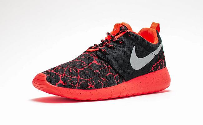 48e21afc445e Nike Roshe One GS Lava Black Crimson