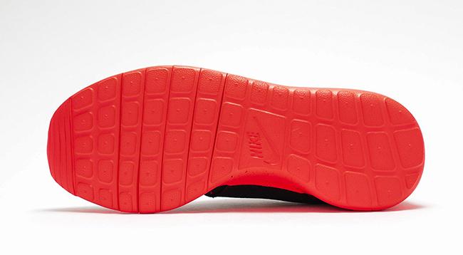 Nike Roshe One GS Lava Black Crimson