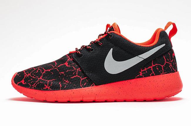 bgkkoi Nike Roshe One GS Lava Black Crimson | SneakerFiles