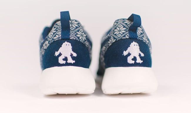 Nike Roshe Run Winter Yeti Sweater Obsidian