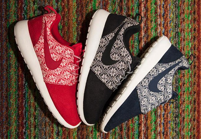 Nike Roshe Run Ugly Christmas Sweater Pack