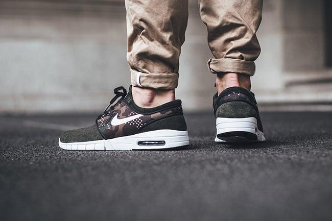 Janoski Camo Negro Max Nike Sb lgQJ1wPs