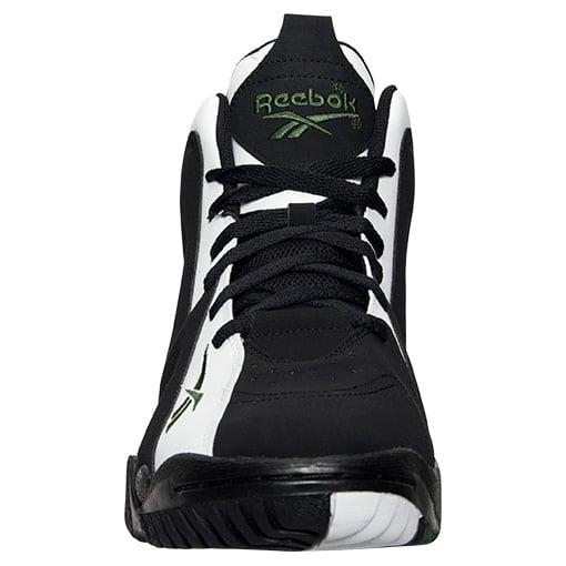 sale retailer d2b24 6353a Reebok Kamikaze II Mid OG White Black Green | SneakerFiles