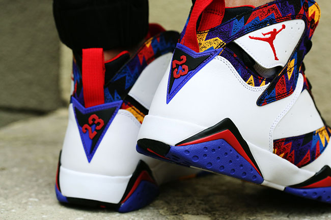On Feet Air Jordan 7 Nothing But Net