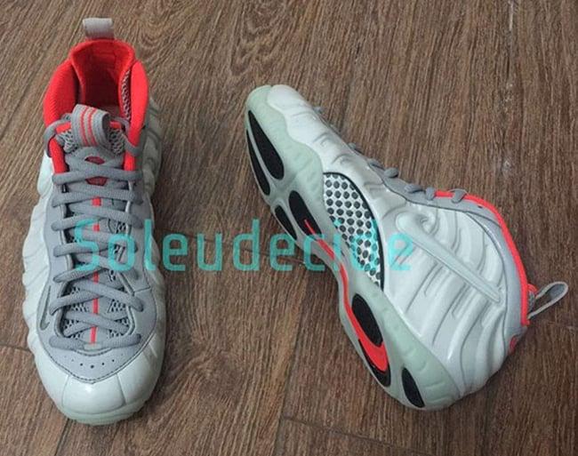 Pure Platinum Nike Foamposite Pro