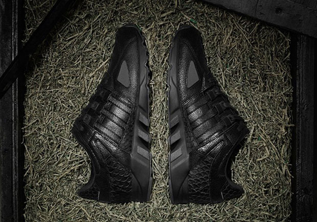 Pusha T adidas EQT Black Market Friday