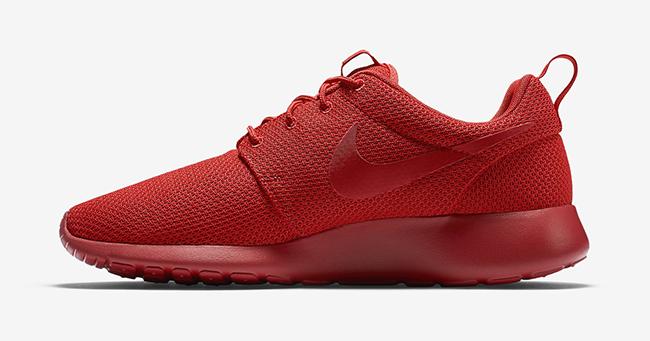 Red Nike Roshe Run   SneakerFiles