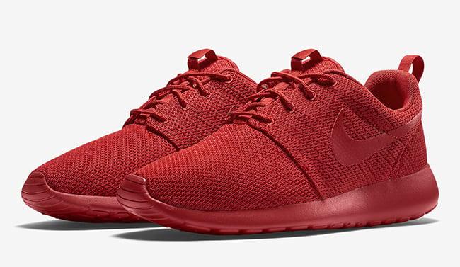Red Nike Roshe Run  92c30f484