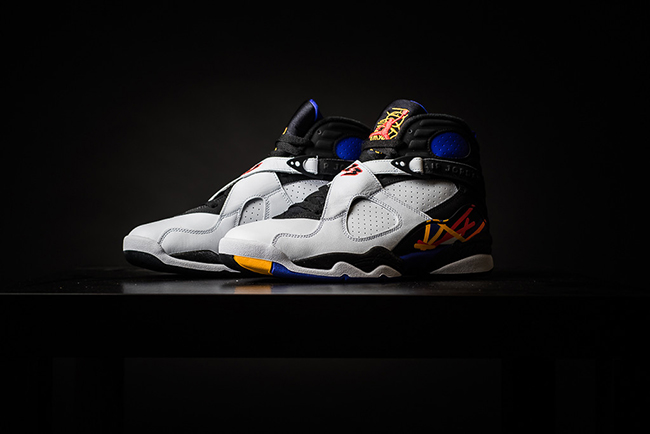 Retro Card Air Jordan 8 Three Times a Charm