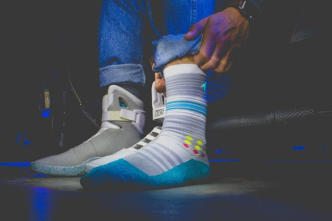 Rock Em Back to the Future Sock Collection