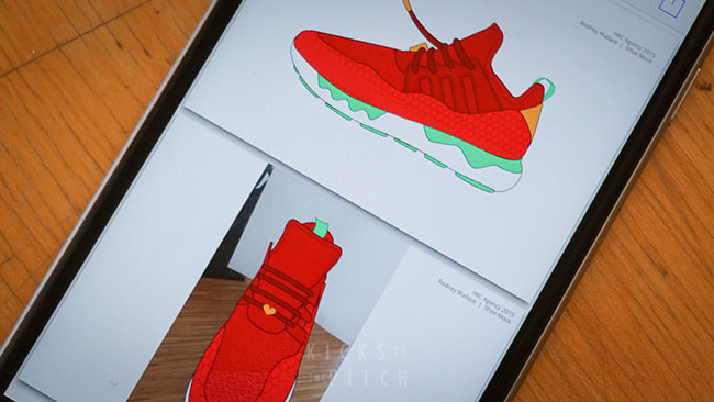 Rodney Wallace adidas Design