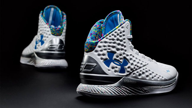 hot sales 2757d 08899 Under Armour Curry One Splash Party Birthday | SneakerFiles