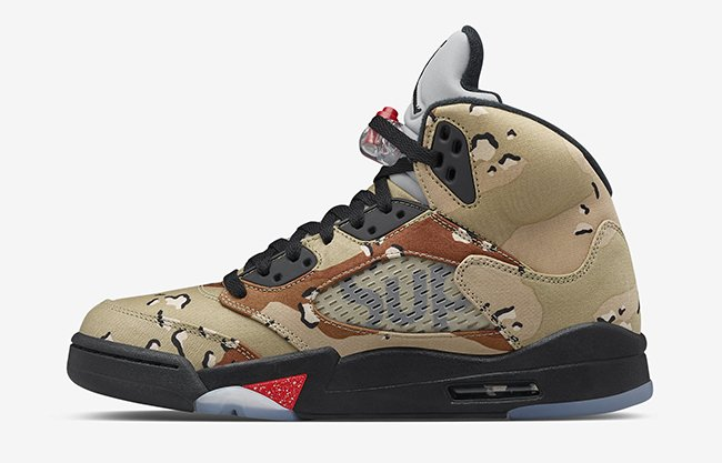 new product 0a51c af425 NikeLab Air Jordan 5 Supreme Camo