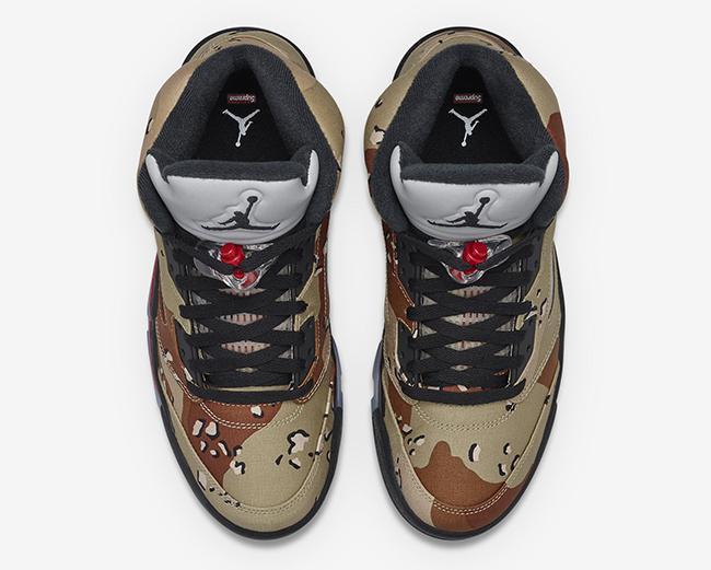 Aire Nike Jordan 5 X Sudadera Camo Supremo t8uYEjEY