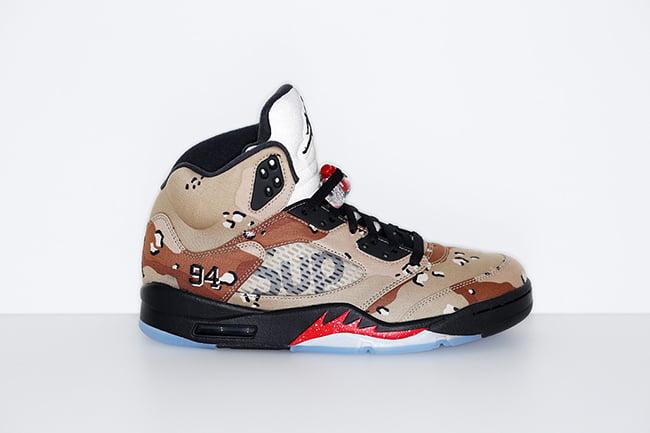 Supreme Air Jordan 5 Release Date