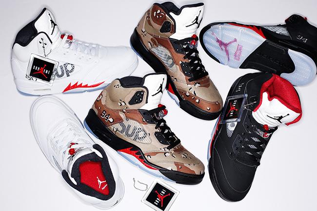 8777256c5c0 Supreme Air Jordan 5 Release Date