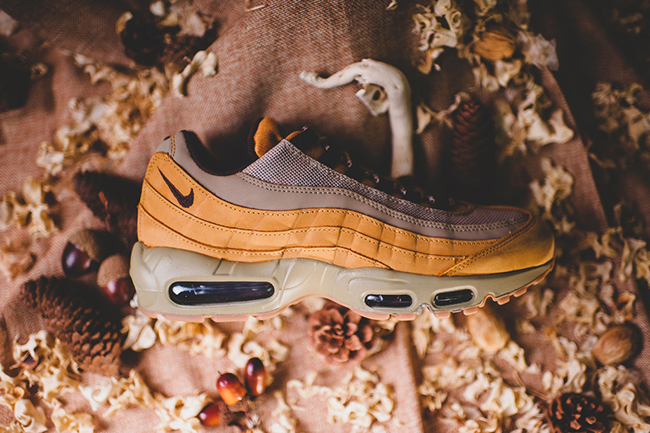 premium selection 79753 00669 Wheat Nike Air Max 95 Release