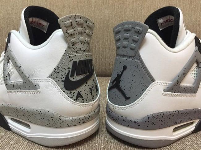 2016 Nike Air Jordan 4 2012 Comparison