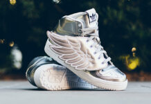 adidas Originals Jeremy Scott Wings 2.0 Metallic Silver
