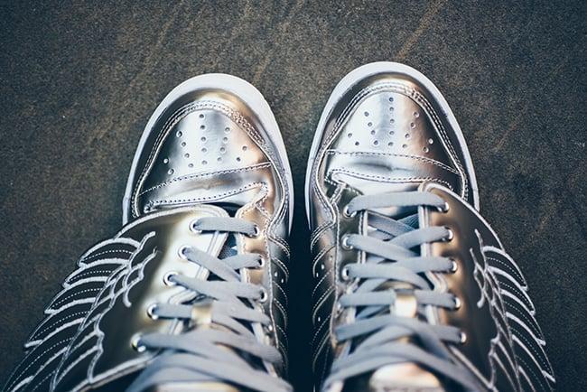 adidas Originals Jeremy Scott Wings 2.0 Metallic Silver