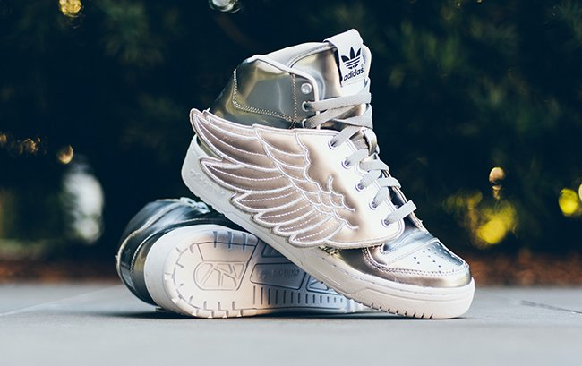 Chaussures Adidas Jeremy Scott Wings 2.0 : 2019 Nouvelle