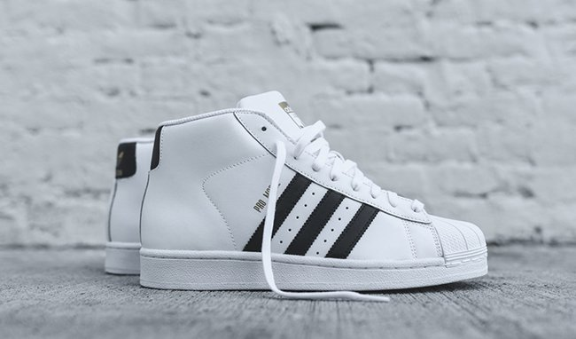 a342b1d7c160 adidas Originals Pro Model OG White Black