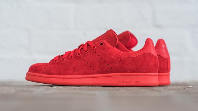 adidas Stan Smith Powder Red | SneakerFiles