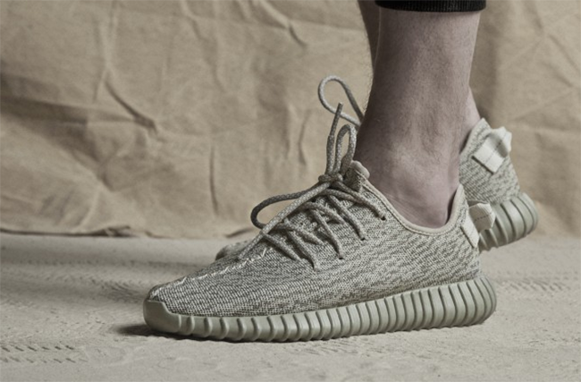 adidas Yeezy 350 Boost Moonrock On Feet