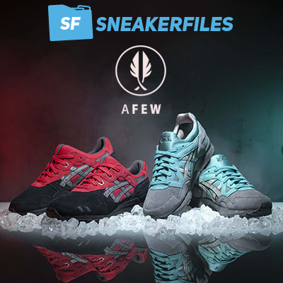 online store 0d14d 27aff Giveaway AFEW x SneakerFiles Asics Gel Lyte Christmas on sale