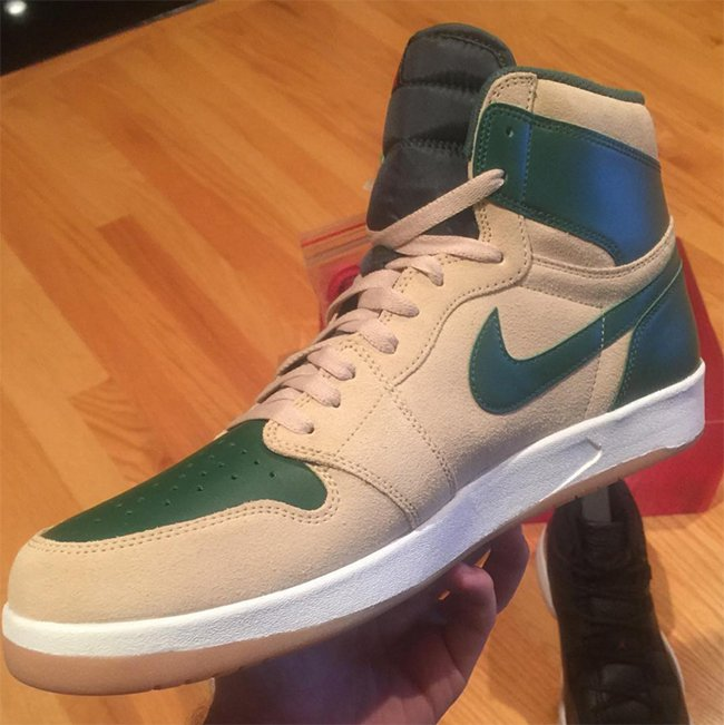 Air Jordan 1.5 Gorge Green 2015